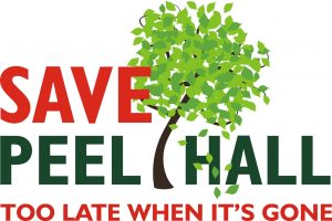 Save Peel Hall Logo